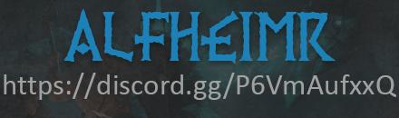 ALFHΞIMR - сервер Valheim